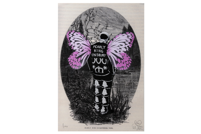 Pure Evil, 'Pearly King Finsbury in pink', 2009, Chiswick Auctions