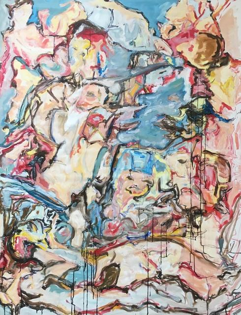 Roshanak M. Heravi, 'Blue Piece Inspired by Cecily', 2015, Maison Depoivre