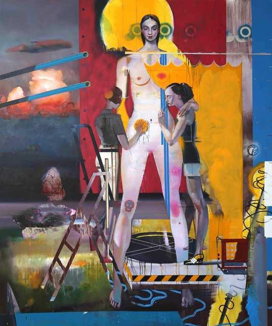 , 'Groszfürstin,' 2018, Josef Filipp Galerie