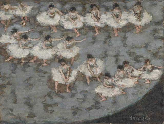 , 'Danseuses ou Le Ballet (Dancers or The Ballet),' c. 1896, Musée d'Orsay