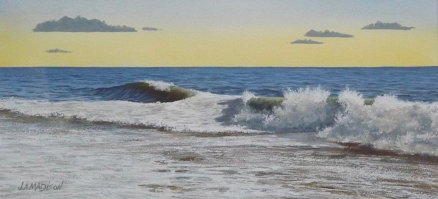 , 'Early Evening Surf,' , Peninsula Gallery