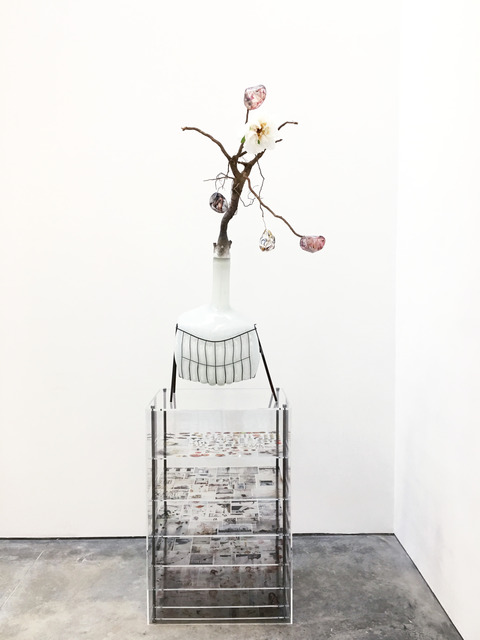 , 'Of Beauty and Decay; or, not (white),' 2018, Malin Gallery