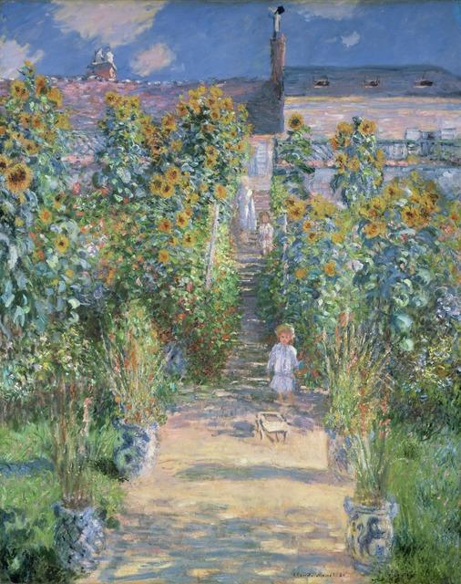 Claude Monet, 'The Artist's Garden at Vétheuil', 1880, National Gallery of Art, Washington, D.C.