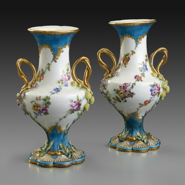 , 'Pair of Small Vases,' 1755, The Frick Collection