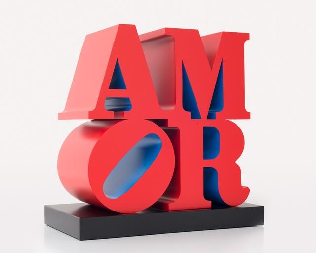 , 'AMOR, Red Blue,' 1998, Paul Kasmin Gallery