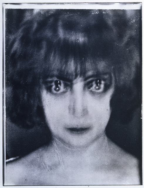 Man Ray, 'Marquise Casati', 1922, Photography, Silver positive on glass plate, Art Resource