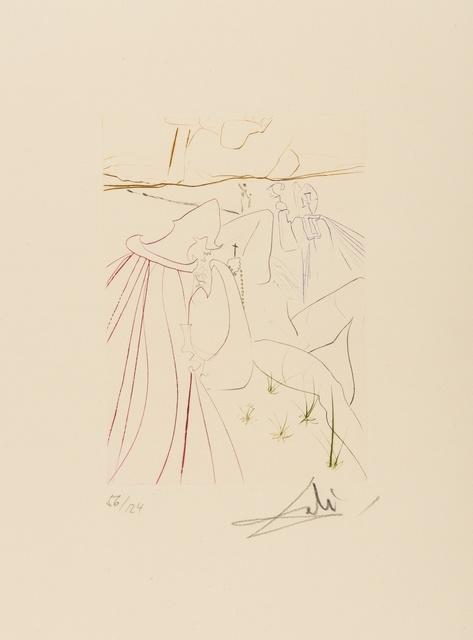 Salvador Dalí, 'La Ressuscitée (M & L 561c; Field 72-8J)', 1972, Print, Etching printed in colours, Forum Auctions
