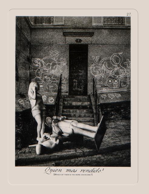 , 'Quien Mas Rendido?,' 2018, Remarque Printshop