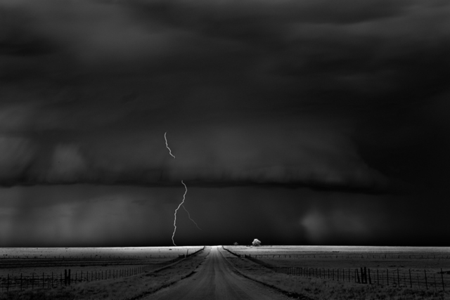 Mitch Dobrowner, 'Road, Near Guymon Oklahoma', 2009, Catherine Couturier Gallery