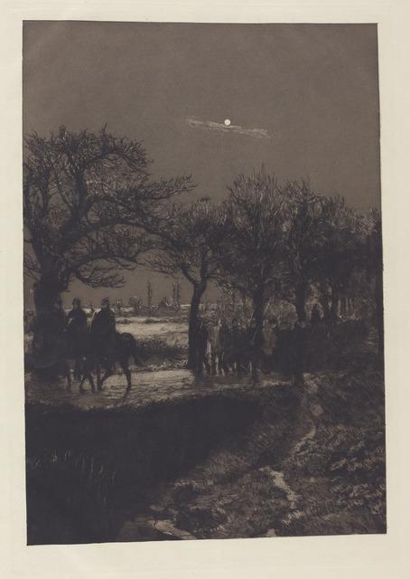 Max Klinger, 'Dramen: VI Motive in X Blättern. Radierungen Opus IX', 1883, National Gallery of Art, Washington, D.C.