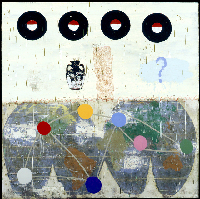 Squeak Carnwath, 'Naturally We', 2005, James Harris Gallery