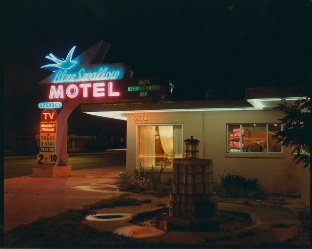 , 'Blue Swallow Motel, Highway 66, Tecumcari, New Mexico, July ,' 1990, Robert Koch Gallery