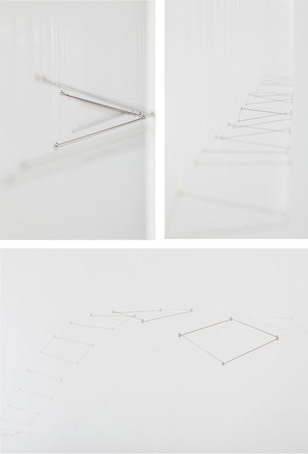 , '12 Planos en linea (Tapiz Doble 10),' 2014, Cecilia de Torres, Ltd.