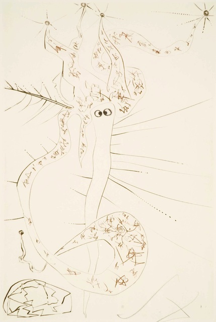 Salvador Dalí, 'Tristan and Iseult : Mad Tristan', 1970, Print, Etching on paper, Samhart Gallery