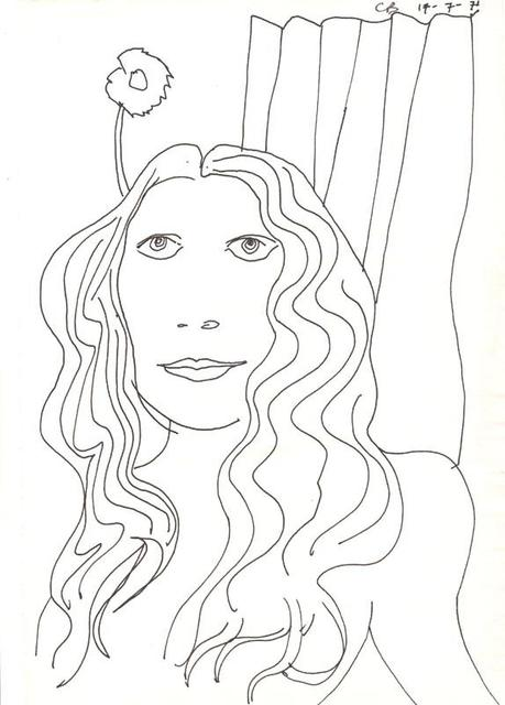 Charles Blackman, 'Philippa,  Paris', 1971, Angela Tandori Fine Art