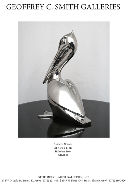 , 'Modern Pelican,' , Geoffrey C. Smith Galleries