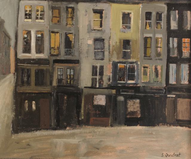 , 'Dark Buildings,' 2018, Sladers Yard