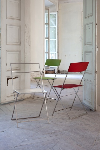 , 'Robert Hass Folding Chairs,' , Galerie Yves Gastou