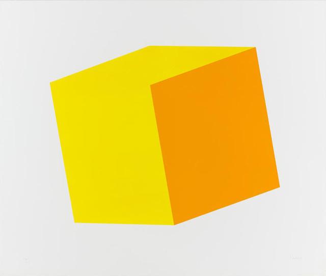 Ellsworth Kelly, 'Yellow/Orange', 1970, Kenneth A. Friedman & Co.