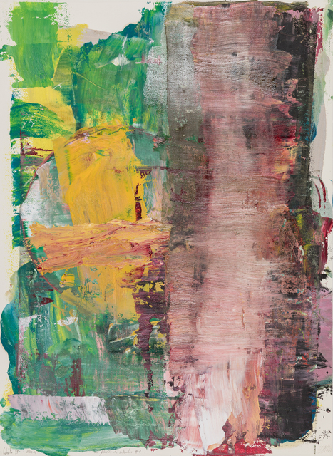 Cabrita, 'As flores de Setembro #1', 2019, Painting, Mixed media on paper, Galeria Miguel Nabinho