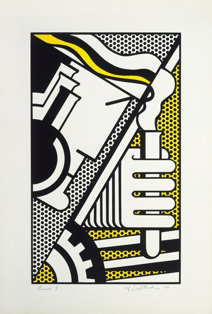 Roy Lichtenstein, 'Chem 1A', 1970, Print, 2-color screenprint, Gemini G.E.L. at Joni Moisant Weyl