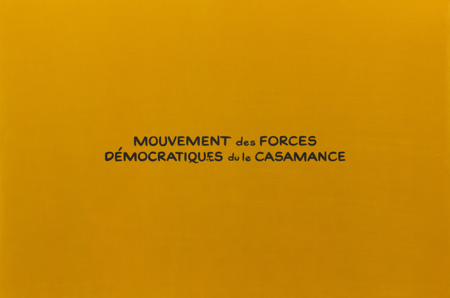 , 'Mouvement des Forces Democratiques du le Casamance (from the sereis Divine Violence),' 2007, Roberts & Tilton