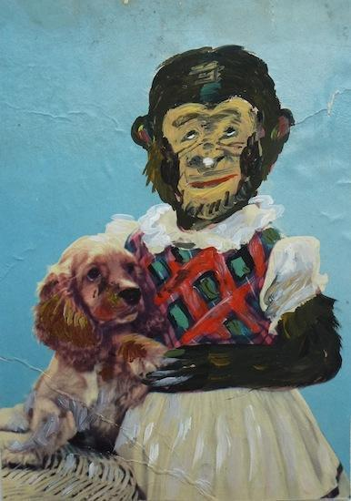 , 'Monkey Girl With Puppy,' 2015, PDX CONTEMPORARY ART