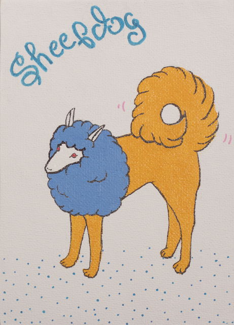 , 'Sheepdog,' 2017, Micheko Galerie