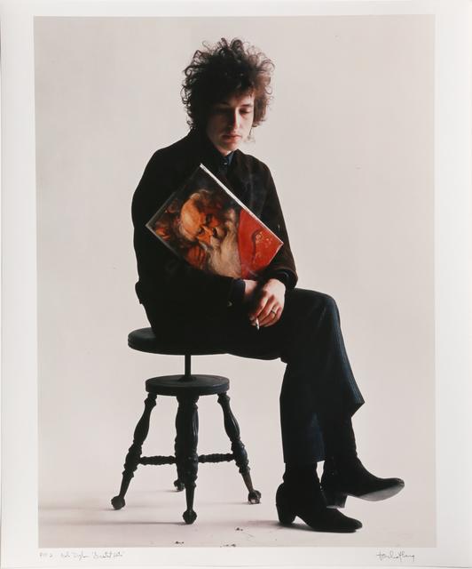 "Jerry Schatzberg, 'Bob Dylan ""Greatest Hits""', 1965 (Later printing), RoGallery"