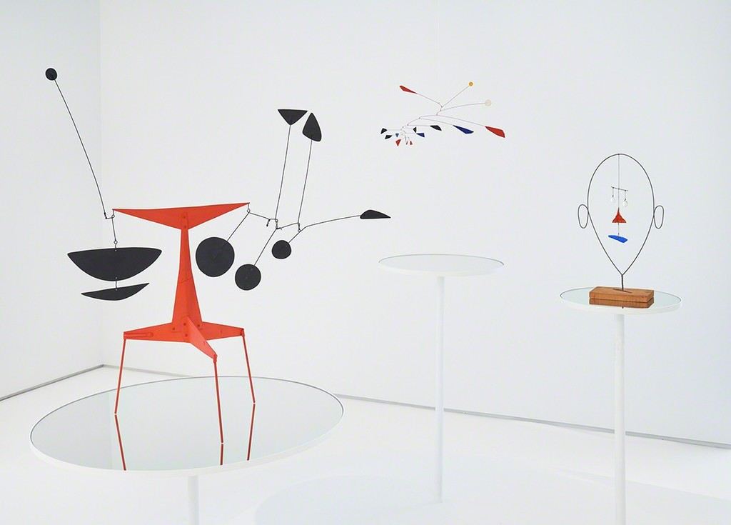Installation photograph, Alexander Calder: Multum in Parvo. Photo courtesy of Tom Powell Imaging.