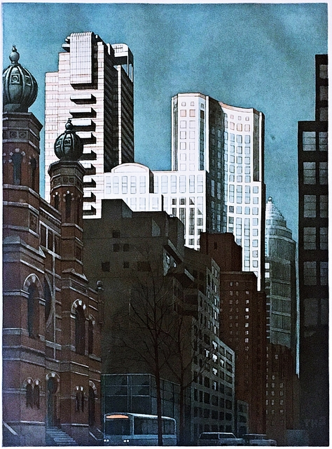 Richard Haas, 'New York, Lexington Ave', 1991, Alpha 137 Gallery