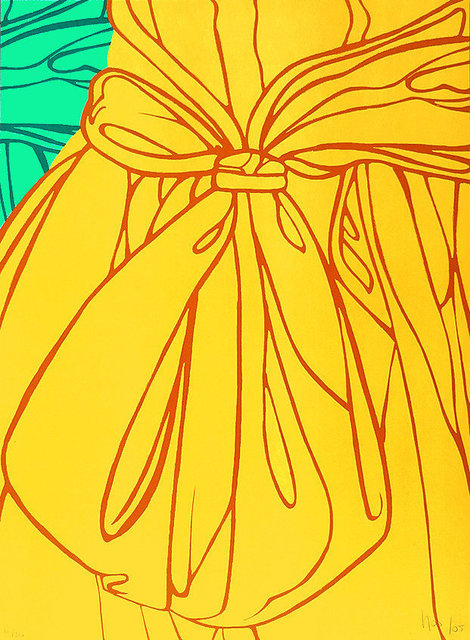 Ana Mercedes Hoyos, 'Dress and Bow (Yellow)', 2005, RoGallery
