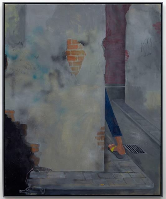 , 'Untitled (leg),' 2013, Dawid Radziszewski