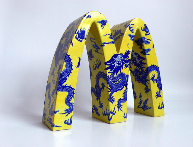 , 'McDonald's – CHINA (dragons),' 2008, ART LABOR Gallery