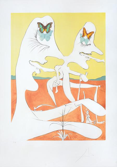 Salvador Dalí, 'Papillons de l'anti-matière (Anti-matter with Butterflies)', 1974, Peter Harrington Gallery