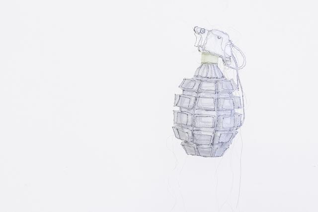 , 'Grenade,' 2016, Art Mûr