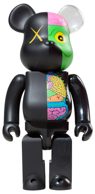KAWS, 'Dissected Companion 1000% (Black)', 2010, 5ART GALLERY