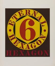 External Hexagon (Sheehan 33) (from Ten Works by Ten Painters)