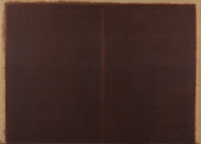 , 'Burnt Umber & Ultramarine,' 1987, PKM Gallery
