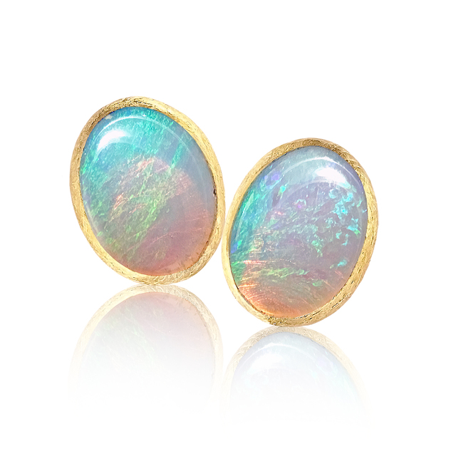 , 'Ethiopian Opal Stud Earrings,' 2017, Szor Collections