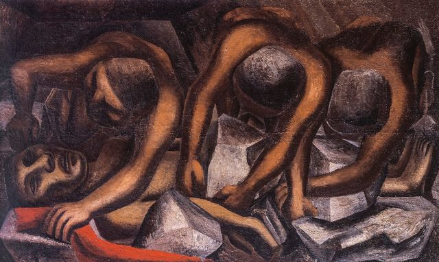 , 'Accidente en la mina,' 1931, MALBA