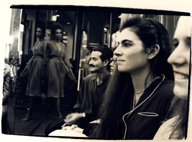 Andy Warhol, 'Andy Warhol, Photograph of Victor Hugo and a Woman at Halston Fashion Show, 1979', 1979, Hedges Projects