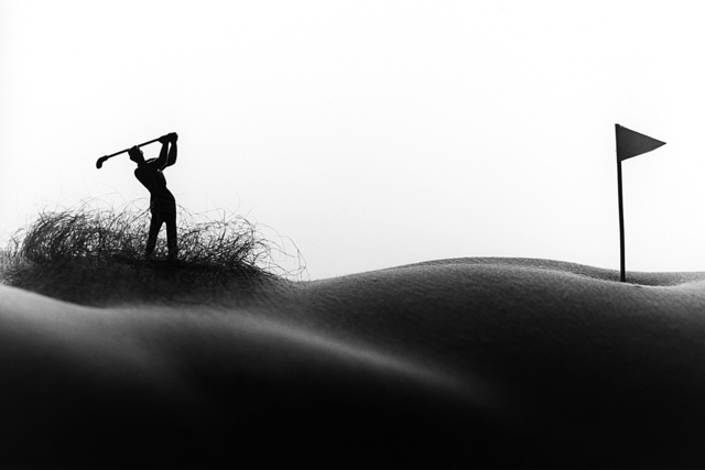 , 'Golfer in the rough,' 2008, Contempop Gallery