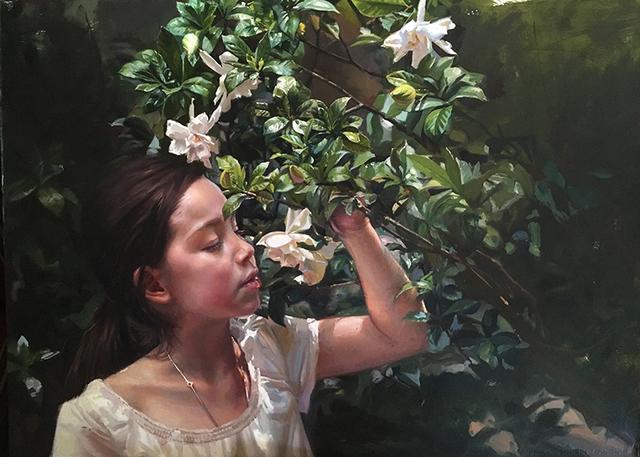 , 'Gardenias,' 2017, Gallery Victor Armendariz