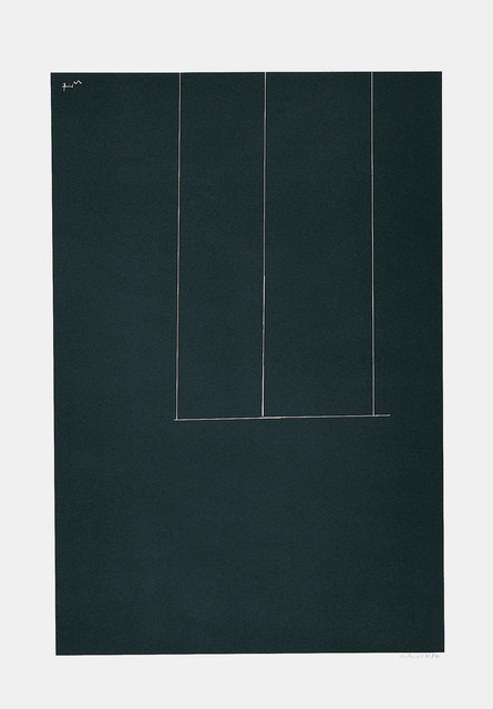 , 'London Series I: Untitled (Black),' 1971, Marlborough Gallery