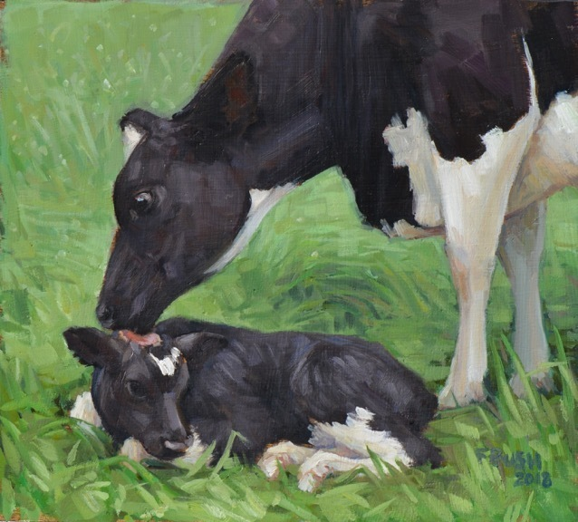 Stephanie Bush, 'Cow Study 37', 2019, West Branch Gallery