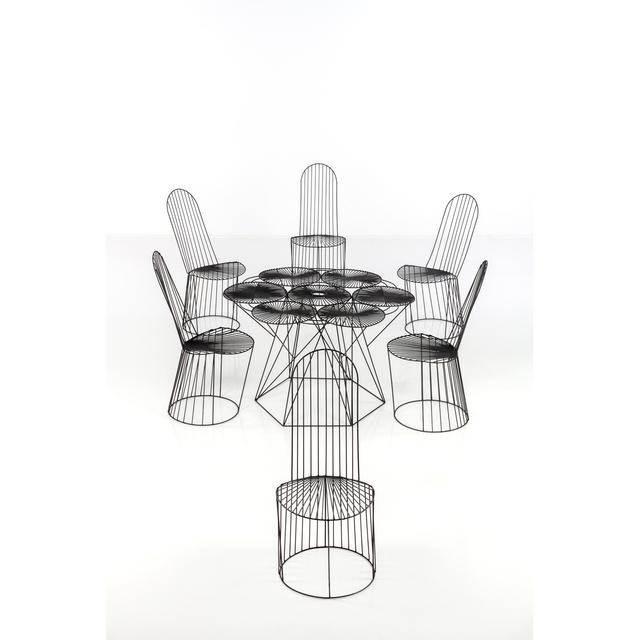 John Risley, 'Set Of A Table And Six Chairs', 1969, PIASA