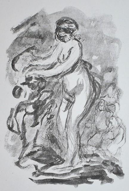 Pierre-Auguste Renoir, 'Femme au Cep de Vigne (Woman by the Grape Vine), 1st variant', 1919, Georgetown Frame Shoppe