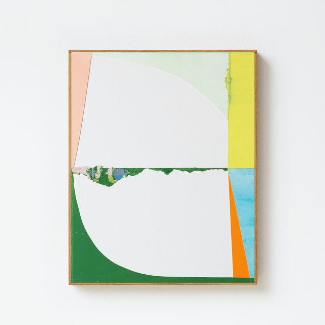 Jo Hummel, 'Long Island', 2021, Painting, Acrylic, emulsion on paper and ply, After Nyne Contemporary