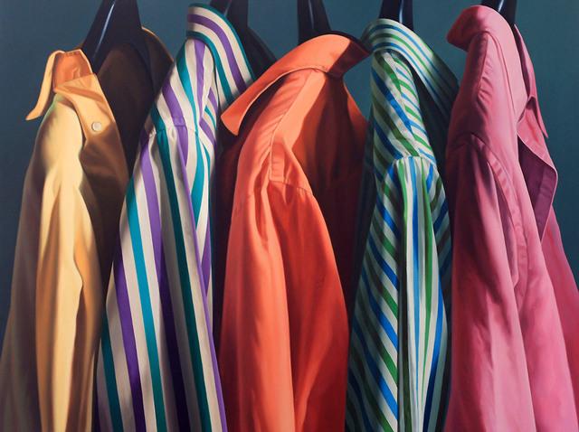 , 'Camicie in fila,' 2012, Galleria Punto Sull'Arte
